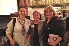 Sandy Lerner, Marsha Huff and Elizabeth Garvie (photographer Vicky Hinshaw)