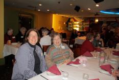 Martha Jamieson and Jane Spector Davis (Margo Malos, Photographer)