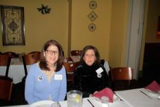 Linda Ierardi and Mary Griffin (Margo Malos, Photographer)