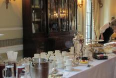 The Tea Table at the Woman's Athletic Club (photographer Kathleen Burke)