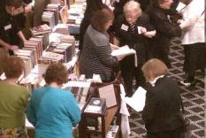 More readers shopping at Jane Austen Books (photographer Sara Okey)