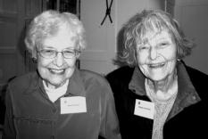 Jeanne Claeys and Gala founder, Maggie Hunt-Cohn