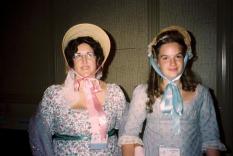 Miriam Rheingold Fuller and her daughter Ellen