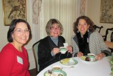 Elizabeth Ireland, Pat Wieber and Jeanne Steen (Margo Malos, Photograper)