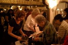 Lindsay Ashford book signing and Linda Reinert at the Book Exchange (photographer Sara Okey)