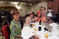 Gail Murphy, Laura Whitlock, Debra Ann Miller and GCR Deputy Regional Coordinator, William Phillips (photographer Vicky Hinshaw)