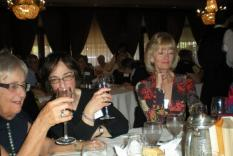 Lunching at the Spring Gala April 2011