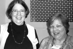 Martha Jameson and Jane Spector Davis