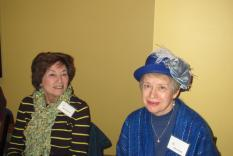 Natalie Goldberg and Judy Chernick (Margo Malos, Photographer)