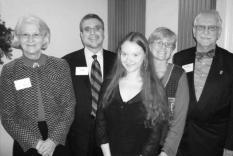 Anna Cooper-Stanton, Jeff Nigro, Anne Davis, Lori Davis and William Phillips