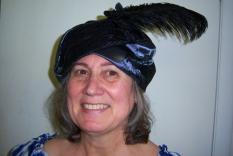 Margaret Eissa in her turban