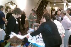 Members shopping (photographer Sara Okey)