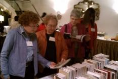 Readers congregate at Jane Austen Books (photographer Sara Okey)