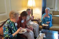 Judy Chernick, Natalie Goldberg, Michael Schulat and Barbara Lanctot (photographer Kathleen Burke)