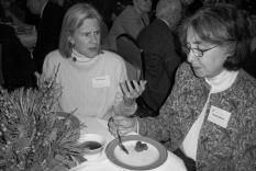 Cathy Feldman and Shirley Holbrooke