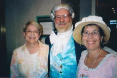 Marsha Huff, Jerry Vetovich, Nili Olay, 2008 AGM