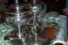 Tea Service Fortnightly Club Dec 3 2011 (Vicky Hinshaw photographer)