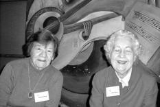 Dolores Henning and Claire Pearse