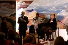 Jeff Nigro and panel, Liz Cooper, William Phillips and Diane Capitani