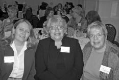 Karla Benton, Sara Bowen and Vicky Hinshaw