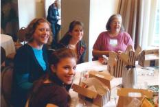 Ronnie Jo Sokol at the Young Writers Workshop