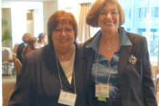 Sandy Flannigan and Natalie Goldberg
