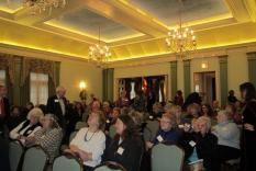 Another photo of the audience (Margo Malos, Photograper)