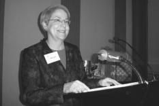Marsha Huff, President of JASNA, today's speaker